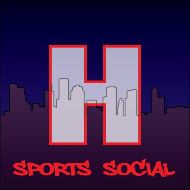 Logo for Houston Sports Social Podcast