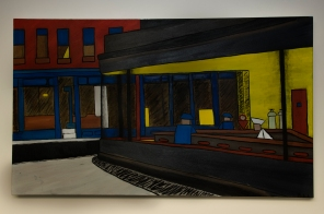 Recreation of The Nighthawks by Daral