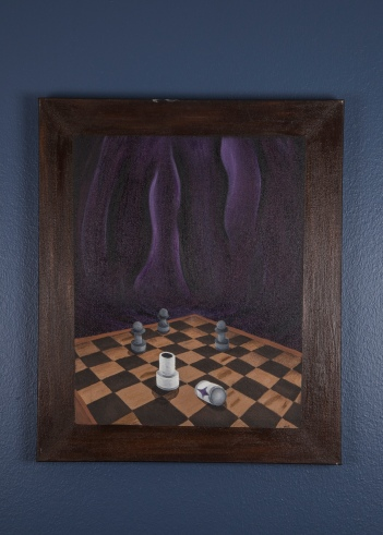 Surrealist Chessboard by Daral